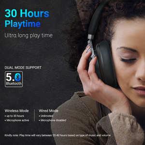 Image 3 - Nuovo Langsdom BT30 aptX BASSA LATENZA Senza Fili Cuffie Bluetooth aptx hd 5.0 Bass Gaming Headset fone de ouvido per la TV PC PUBG