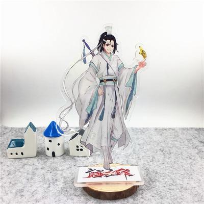 2* Anime Mo Dao Zu Shi Lan WangJi Wei WuXian Acrylic Stand Figure Model Toy 16cm