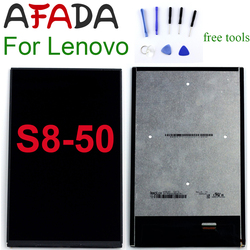 8 inch For Lenovo Tab S8-50 S8-50F S8-50L S8-50LC LCD Display Touch Screen Digitizer Glass Assembly Parts Free Tools