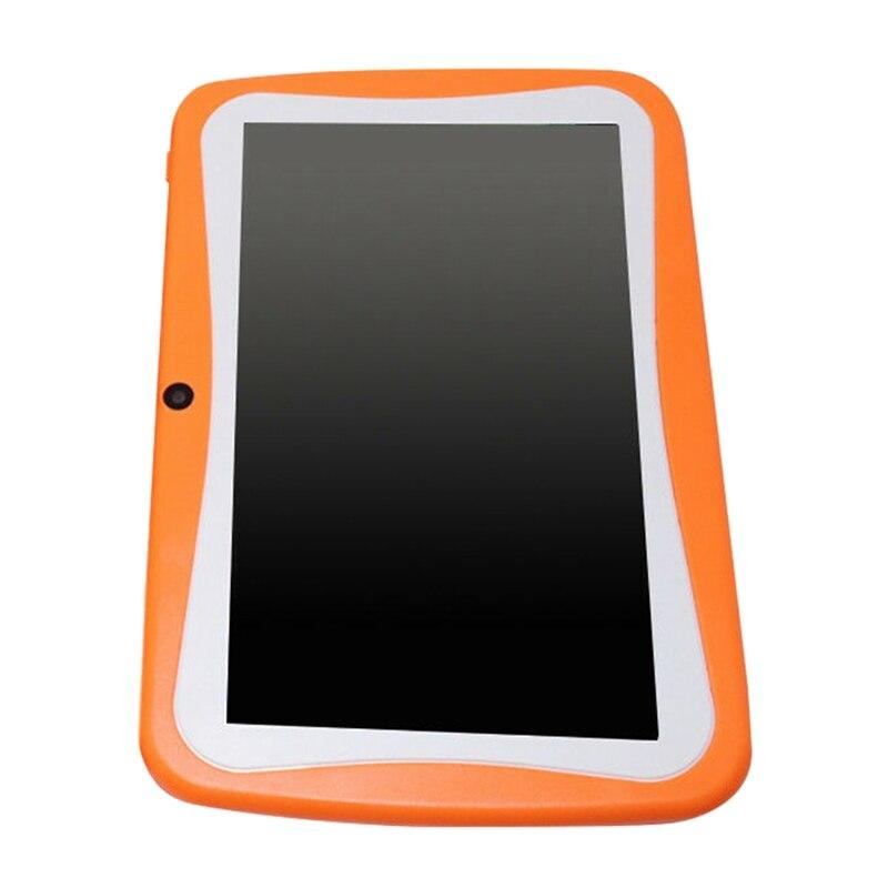 7 pulgadas niños Tablet cámara doble Android Wifi educación juego regalo para niños niñas, enchufe de la UE - 2