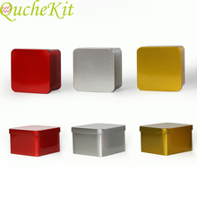 Mini Metal Storage Box Square Iron Tin Boxes Candy Chocolate
