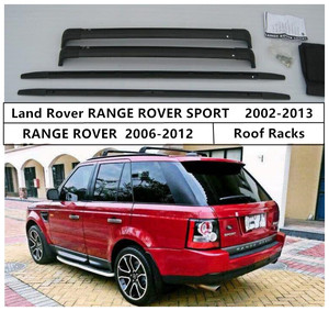 Для Land Rover RANGE ROVER SPORT 2002-2013 багажник на крышу поперечная багажная Стойка Высокое качество алюминиевый материал аксессуары