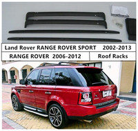 For Land Rover RANGE ROVER SPORT 2002 2013 Roof Racks Cross Luggage Rack Bar High Quality Aluminium Material Accessories
