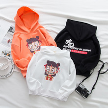 2019 New popular Ne Zha anime movie  Childrens Sweatshirt children cute cartoon pullover Halloween show costume