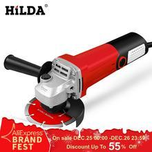 HILDA 1100 Вт угловая шлифовальная машина электрический шлифовальный станок Электроинструмент шлифовальный станок