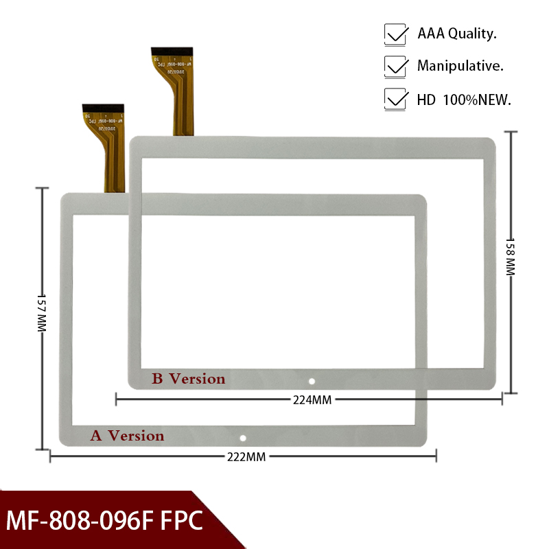New Mjk-0419-fpc MK096-419 50pin 9.6'' Inch Tablet Capacitive Touch Screen Panel Sensor DH-1069A4-PG-FPC264-V1.0 MF-808-096F