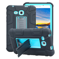 New Baby Safe Armor Case For Samsung Galaxy Tab A 7.0 2016 T280 T285 Shockproof Hybrid Plastic+Soft Silicon tablet Case+Film+Pen Tablets & e-Books Case     -