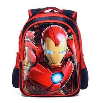 Spiderman Captain America Boy Girl Baby Children Kindergarten Nursery School bag Bagpack Schoolbags Kids Student Backpacks - DISCOUNT ITEM  22 OFF Luggage & Bags