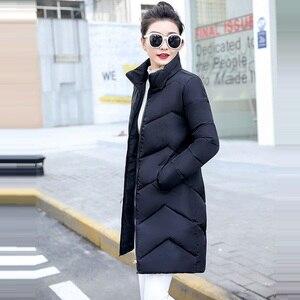 Image 1 - 2019 décontracté coupe vent femmes vestes de base manteaux chauds grande taille 6XL vestes Bomber femme