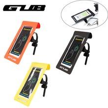 GUB 919 Велосипедный Чехол для телефона водонепроницаемый Сенсорный экран Велоспорт MTB горный велосипед Рама передняя трубка для 6 дюймов Сумка для телефона