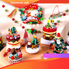 Mix Designs Christmas Gift Suit Non-woven Fabric DIY Handmade Craft Christmas for Decorations Home