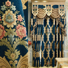 FYFUYOUFY high-grade curtains for living room bedroom exquisite embroidery curtains for kitchen fine tulles shade window fabric(China)