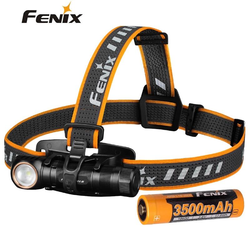 NEW FENIX HM61R Multifunctional Headlamp 1200 Lumens Outdoor Flashlight Magnetic Suction Charging Working Lamp