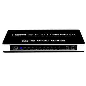 Image 3 - HDMI מתג Switcher 5x1 עם אודיו Extractor 4K x 2K 3D ARC אודיו HDMI מתג עם מרחוק עבור PS4 Apple טלוויזיה HDTV,DVD,STB