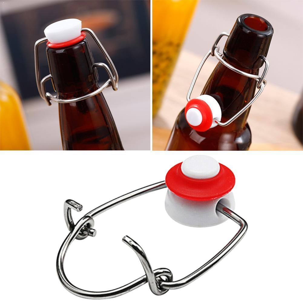 Cap Flip Top Stopper Root Beer Bottles Replacement Brewing Bottle Cap Wine Stoppers Homebrew Swing Pliers Tops R2V2 image