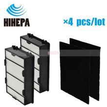 2 verdadeiro filtro hepa e 2 pré substituição de filtros de carbono compatível com holmes hapf600 hapf600d HAPF600D U2 filtro b