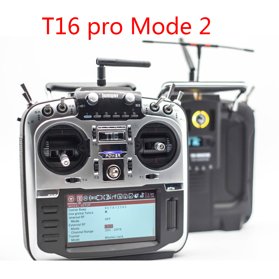 Image 3 - Jumper T16 pro T16 Plus Hall Gimbal Open Source Multi protocol Radio Transmitter JP4 in 1 RF Module 2.4G 16CH Remote controller-in Parts & Accessories from Toys & Hobbies
