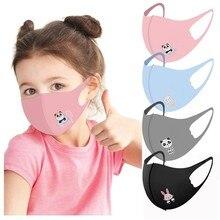 1 шт. детская Пылезащитная маска для рта детская 3d печать персональная Пылезащитная смываемая Маска Тушь для ресниц Защитная маска для спор...