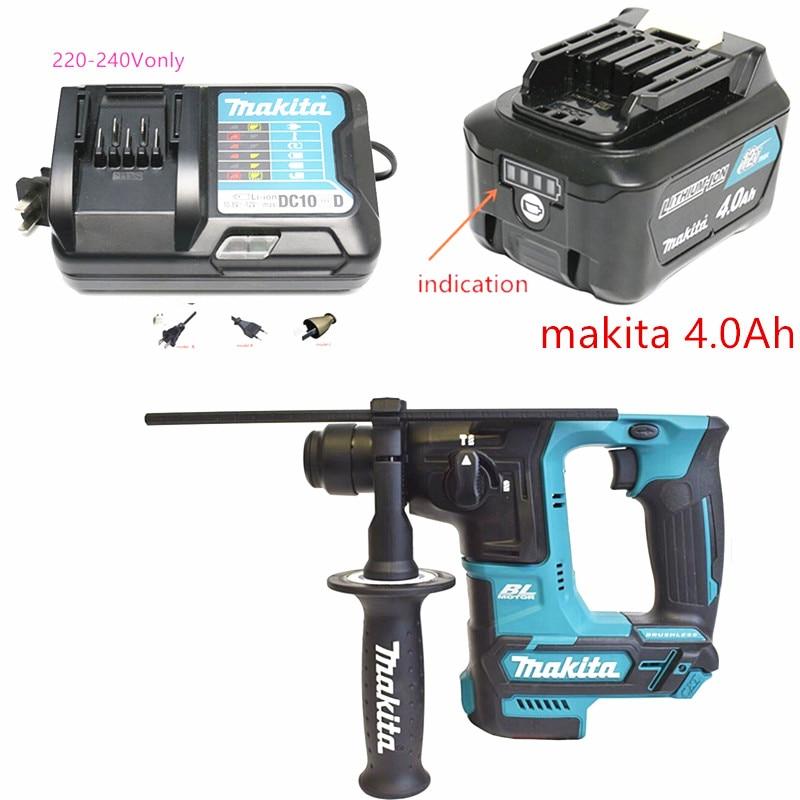 Makita CORDLESS BL ROTARY HAMMER HR166DZ HR166D 12V 16mm LED Joblight
