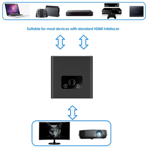 Image 3 - Conmutador bidireccional 2020 1x2 HDMI compatible con HDMI 2,0 HDCP 2,2 UHD 4K 2x1 HDMI Switch HUB Box para Apple TV, XBox,PS3, PS4 HDTV