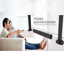 SB-36Wireless Kolom Soundbar Stereo Speaker Tv Home Theater Ingebouwde Lithium Batterij Geluid Bar Tf Usb Sound Bar(China)