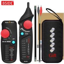 Network Cable Tracker Wire Tester BSIDE FWT82 Professional RJ45 RJ11 Telephone Toner Ethernet LAN Tracer Detector Line Finder
