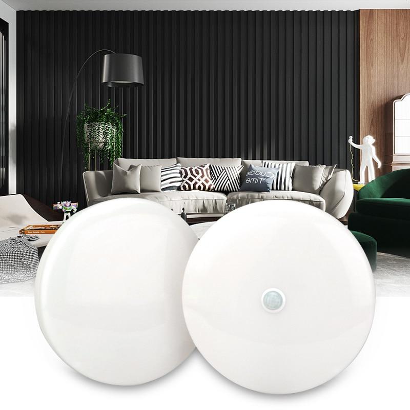 Surface Mounted PIR Motion Sensor LED Ceiling Lamps 8W 18W Night Lighting Modern Ceiling Lights For Entrance Balcony Corridor