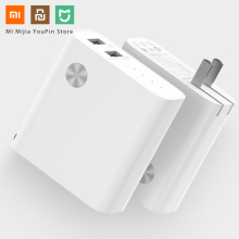 цена на Original Xiaomi 2 in 1 5000mAh Fast Charge Power Bank with USB Charger for Samsung Xiaomi Huawei Smart Fast Charger For phone