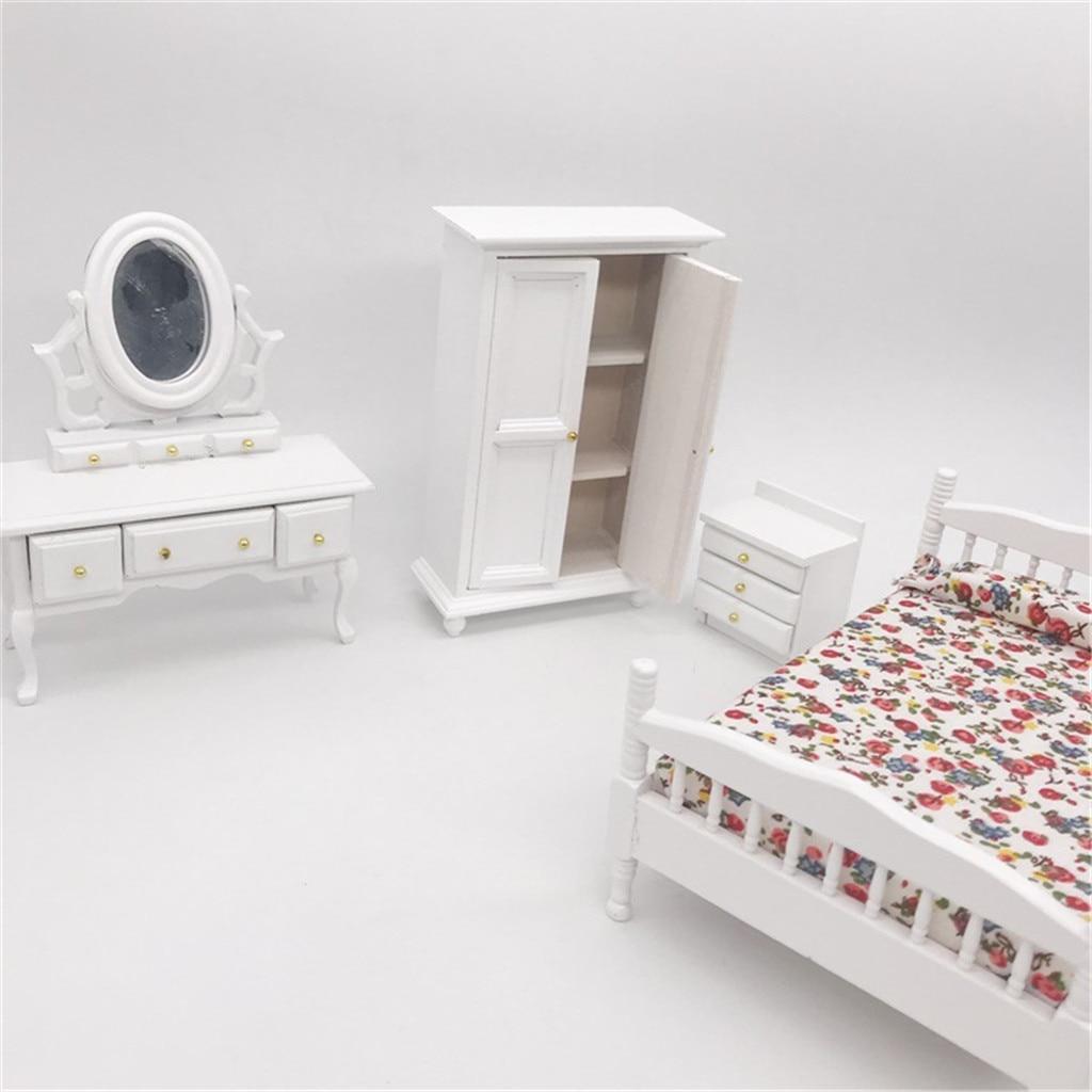 HIINST 1/12 Dollhouse Furniture Simulation Mini Bedroom Wardrobe Miniature Living Room Doll House Accessories Kid Pretend Toy|Furniture Toys| |  - title=