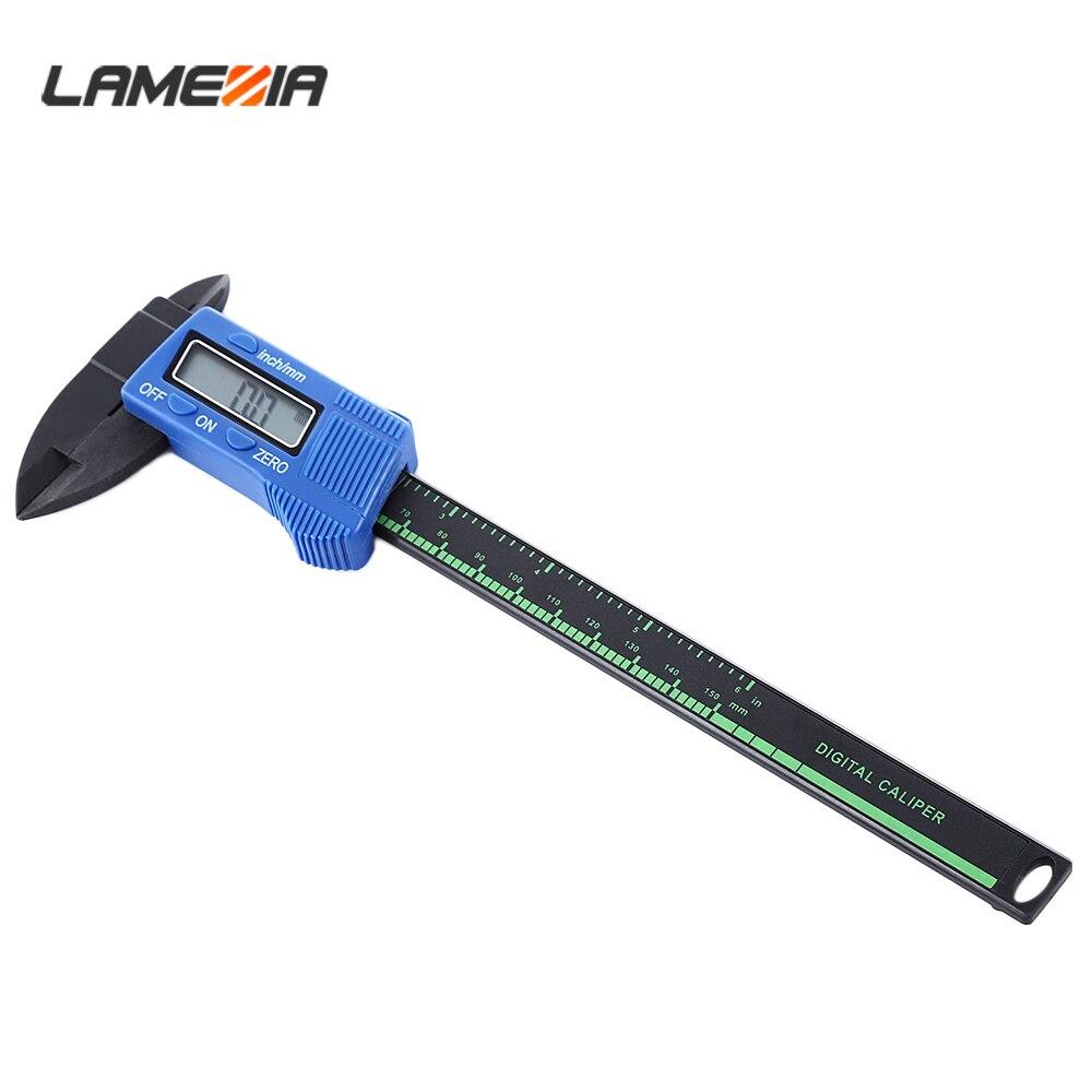 Electronic Thickness Gauge Carbon Fiber Digital Vernier Caliper 150mm