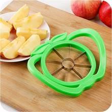 Apple slicer atualizado versão 8-blade grande apple corer aço inoxidável ultra-afiada cortador de maçã para suprimentos de corte de natal