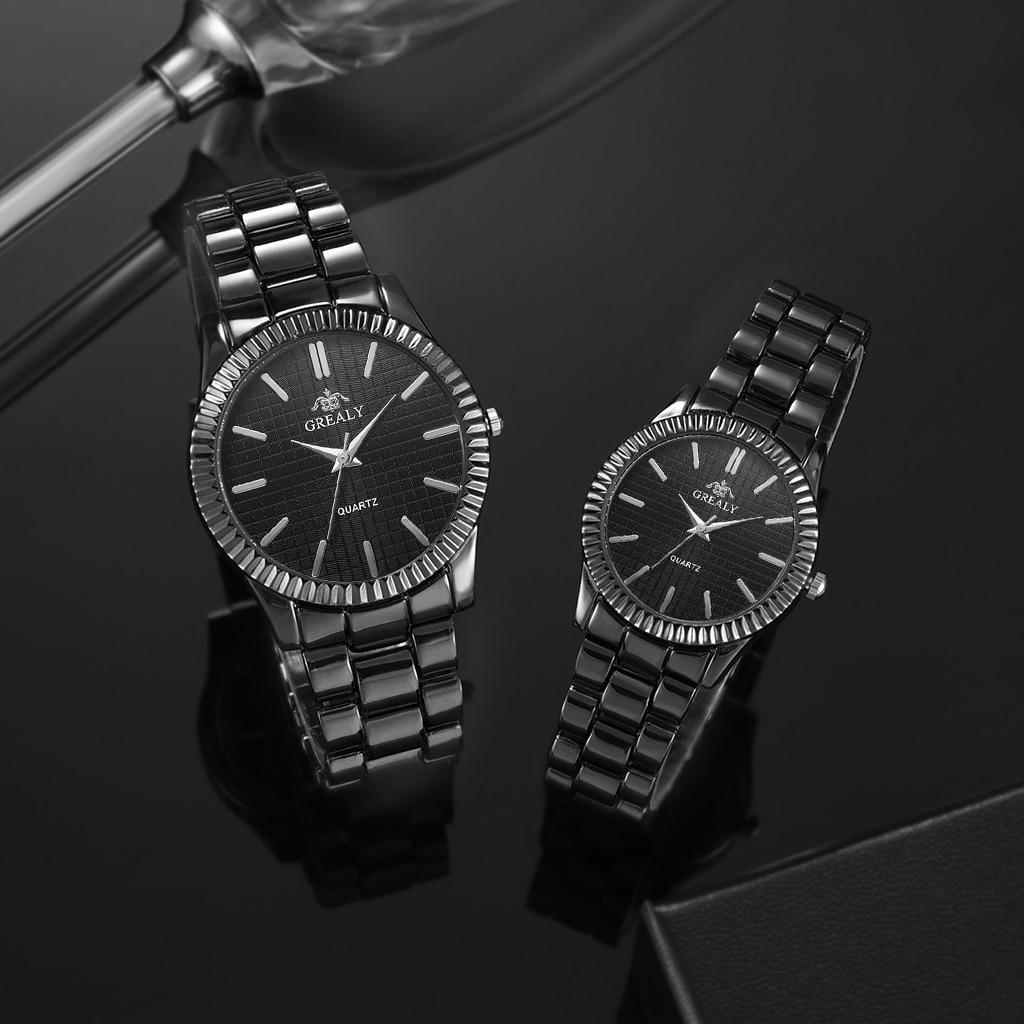 Couple Mens Women Watches Top Brand Luxury Quartz Ladies Wristwatch -