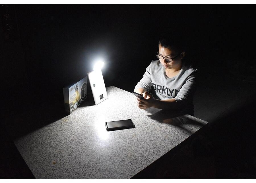 30 portátil LEVOU Luz De Energia Solar