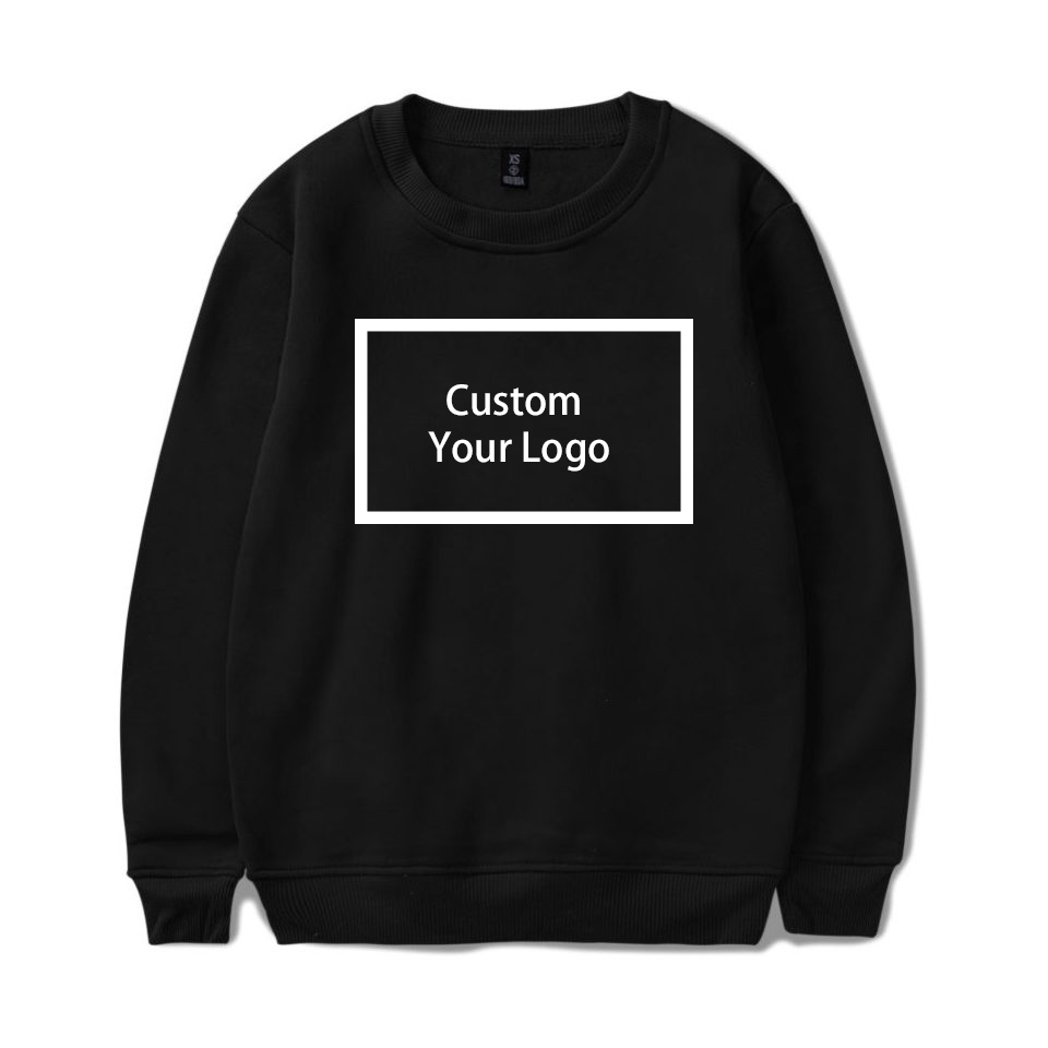 Customized logo Print wholesale Sweatshirts Cotton Hoodies