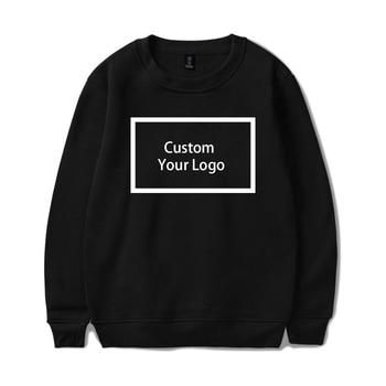 Customized logo Print wholesale Sweatshirts Cotton Hoodies