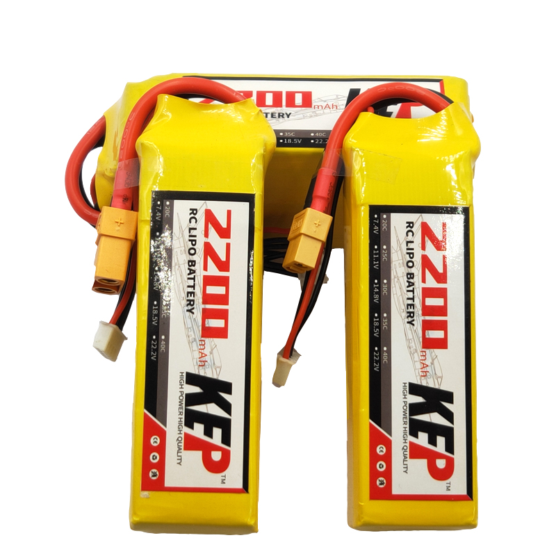 <font><b>6S</b></font> 22.2V <font><b>2200mAh</b></font> 30C 40C High Quality Rechargeable <font><b>Lipo</b></font> Battery RC <font><b>Lipo</b></font> Battery For RC Airplane Car Drone Remote Control XT60 image
