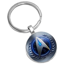 2019 Hot Glass Cabochon Sword Pattern Keychain Mens Popular Accessories Gift  From The Batch