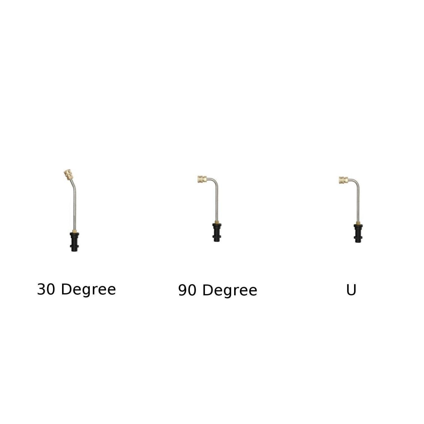Extension Lance 20cm Long 1//4/'/' High Pressure Power Washer Replacement Wand