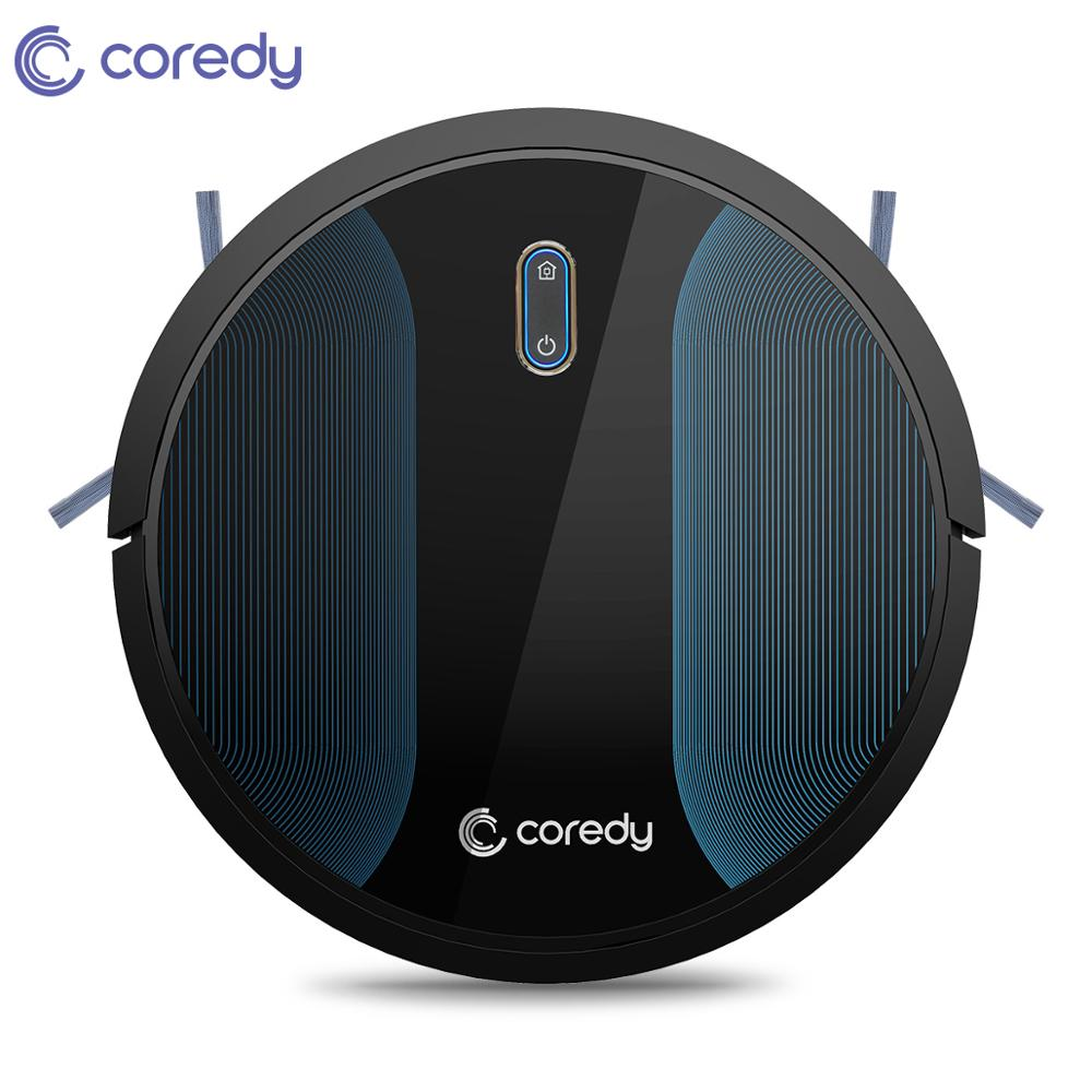 Coredy R500+ 1400pa Vacuum Cleaner Cleaning Robot Mop Wet Dry Smart Carpet Floor Robot Aspirador Home Dust Cleaner Auto Charging