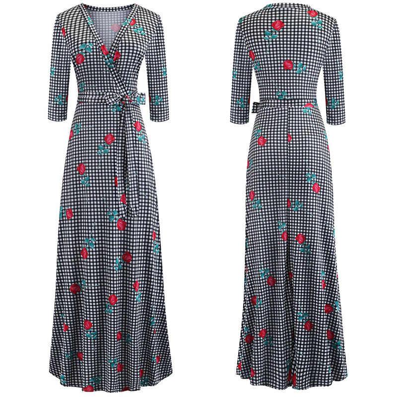 Nowe mody seksowna kobieca sukienka macierzyński pas sukienki z luźnym pasmem druk cyfrowy odzież dla kobiet kobiet odzież codzienna