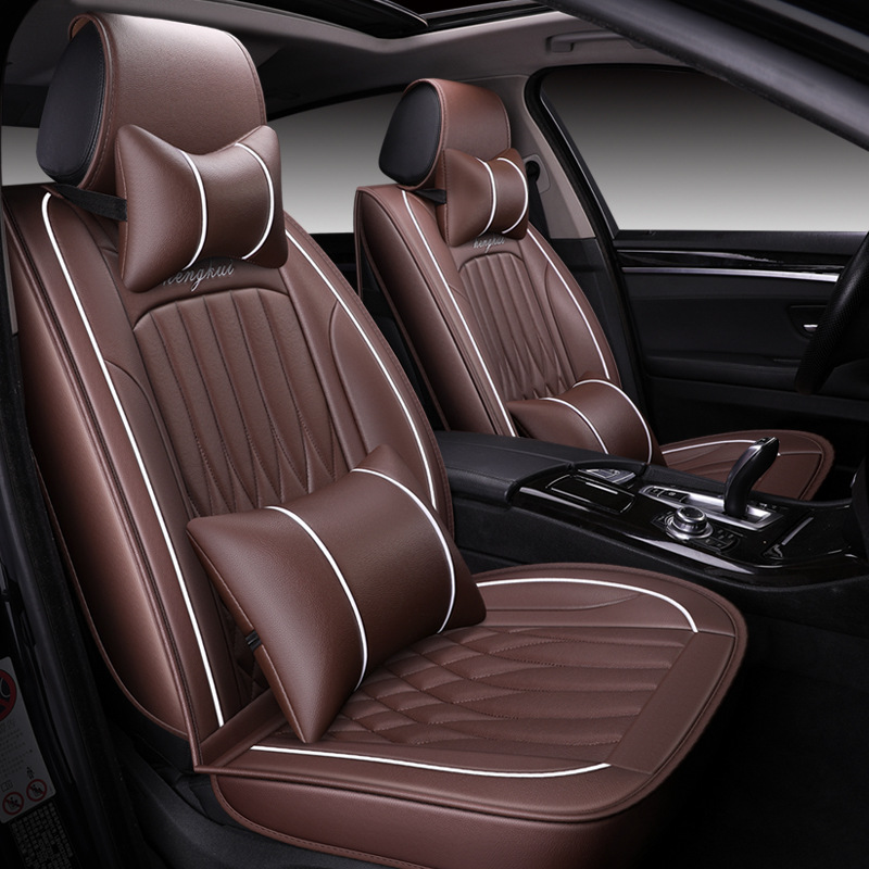 High quality leather car seat cover for citroen c4 c5 c3 berlingo c4 picasso c1 All models auto seat protector car accessories