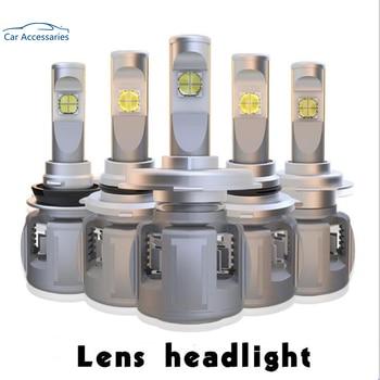 2 pcs H8 H9 H11 120W 12000LM XHP-70 Lens Chips X70 Car LED Headlight Front Lamp Bulbs H4 H7 9005/6 HB3/4 9012 D1S/D2S/D3S/D4S 6K