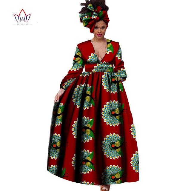 Купить брв африканский платье для для женщин осень одежда с длинным