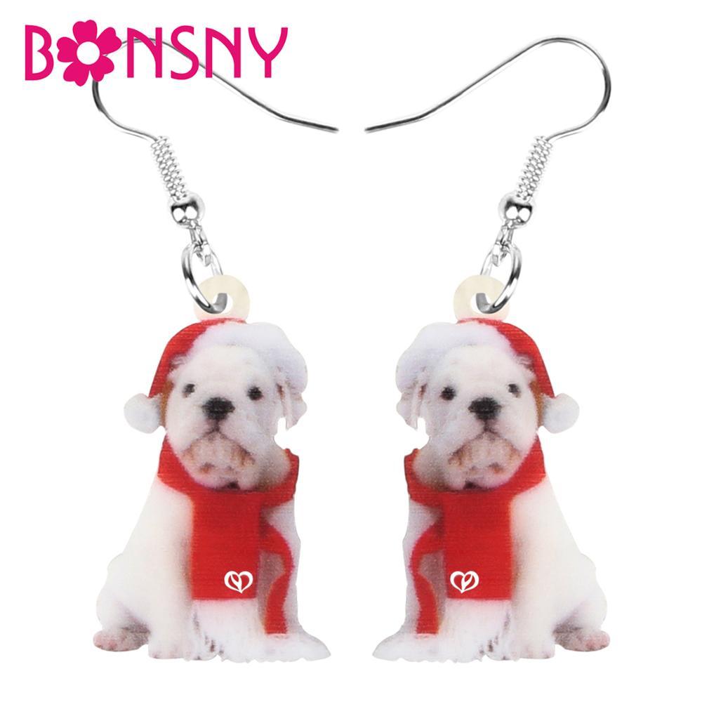 Acrylique Assis Beagle Dog Boucles d/'oreilles Goutte Dangle Animal Bijoux pour Femmes Cadeaux
