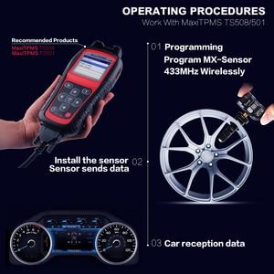 Image 3 - AUTEL TPMS Sensor 433Mhz Ladaptation TS501 TS508 Programmable Véhicule Voiture Accessoires Capteur de autopartes
