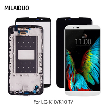 цена на LCD Display For LG K10 LTE K420N K430 K420 K430DS LCD Touch Screen Digitizer Assembly for K10 TV K420TV K410TV LCD Screen