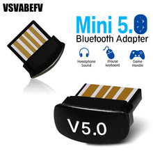 5.0 Usb Blueteeth Adapter for Pc File Transfer Mini Computer Laptops USB Audio Receiver Dongle Document Transmitter Tiny