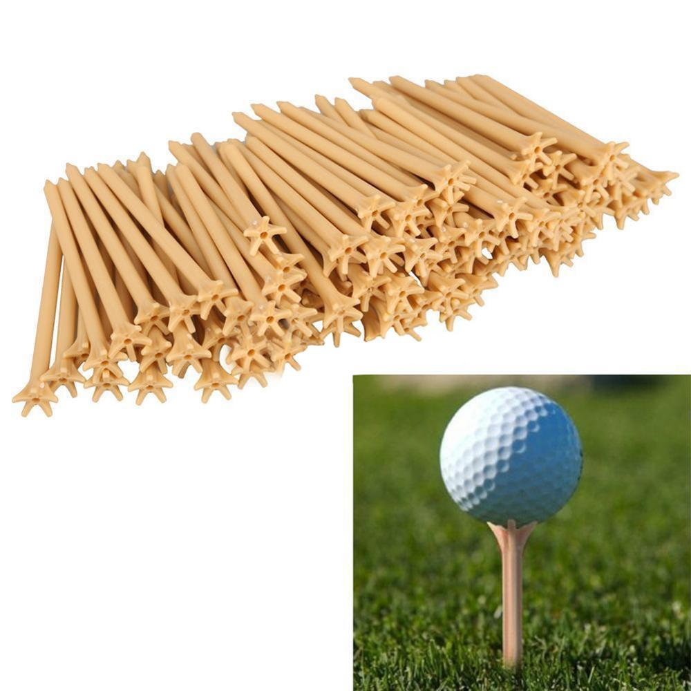 10Pcs Lot Professional Frictionless Golf Tees Tool Golf Wheat Frictionless Golf Tee