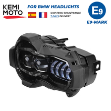 Faro Led R1200GS para moto BMW R1200GSA R 1200 GS ADV Adventure, luces delanteras LED para motocicleta resistentes a la corrosión y al impacto (producto apto para refrigeración de aceite)
