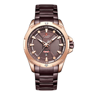 Image 2 - Top Naviforce Heren Horloge Merk Luxe Mode Quartz Mannen Horloges Waterdichte Sport Mannelijke Militaire Polshorloge Relogio Masculino